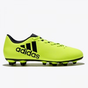 adidas X 17.4 Firm Ground Football Boots – Solar Yellow/Legend Ink/Leg