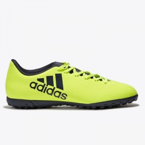adidas X 17.4 Astroturf Trainers – Solar Yellow/Legend Ink/Legend Ink