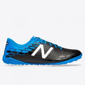 New Balance Visaro 2.0 Control Astroturf Trainers – Black/Bolt