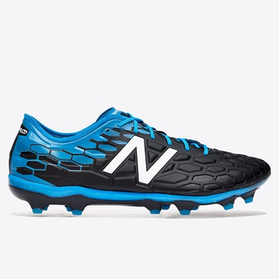 New Balance Visaro 2.0 Pro Firm Ground Football Boots – Black/Bolt