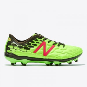 New Balance Visaro 2.0 Pro Firm Ground Football Boots – Energy Lime/Mi