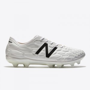 New Balance Visaro 2.0 Pro Firm Ground Football Boots – White Out