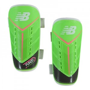 New Balance Furon Dispatch Shin Guards – Energy Lime/Military Dark Tri