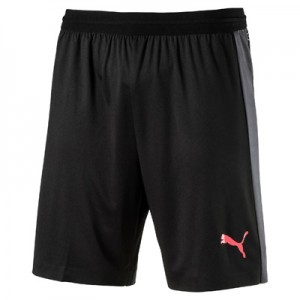 Puma EvoTRAINING Tech Short – Puma Black/Ebony/Fiery Coral
