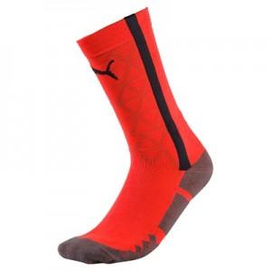 Puma EvoTRAINING Sock – Fiery Coral/Ebony