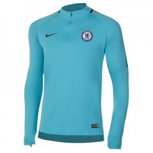 Chelsea Squad Drill Top – Omega Blue