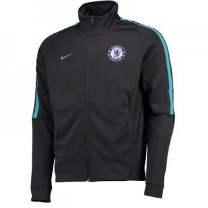 Chelsea Authentic Franchise Track Jacket – Black
