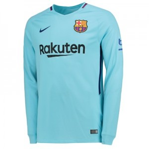 Barcelona Away Stadium Shirt 2017-18 – Long Sleeve