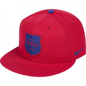 Barcelona Squad Snap Back Cap – Red
