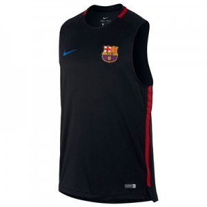 Barcelona Squad Sleeveless Training Top – Black