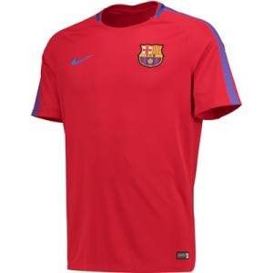 Barcelona Squad Training Top – Red