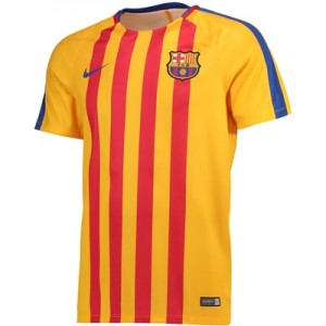Barcelona Squad Pre Match Top – Gold – Kids