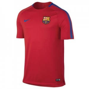 Barcelona Squad Training Top – Red – Kids