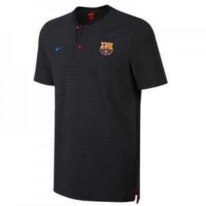 Barcelona Authentic Grand Slam Polo – Black