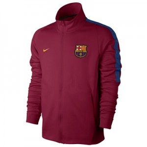 Barcelona Authentic Franchise Jacket – Red