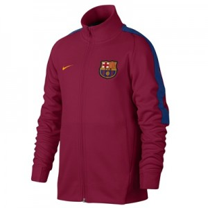 Barcelona Authentic Franchise Jacket – Red – Kids
