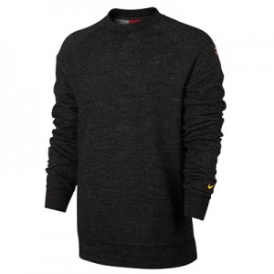 Barcelona Authentic Crew Sweatshirt – Black