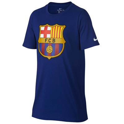 Barcelona Ever Green T-Shirt – Royal Blue – Kids