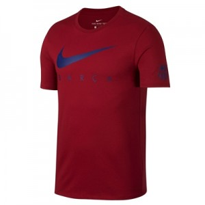 Barcelona Pre Season T-Shirt – Red – Kids
