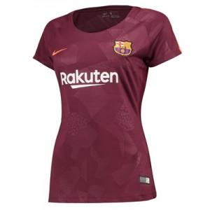 Barcelona Third Stadium Shirt 2017-18 – Womens