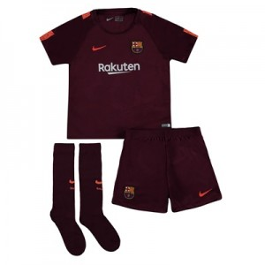 Barcelona Third Stadium Kit 2017/18 – Little Kids