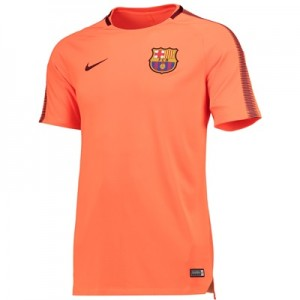 Barcelona Squad Training Top – Orange – Kids