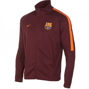 Barcelona Authentic Franchise Jacket – Maroon – Kids