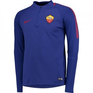 AS Roma Squad Drill Top – Royal Blue