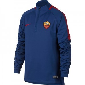 AS Roma Squad Drill Top – Royal Blue – Kids