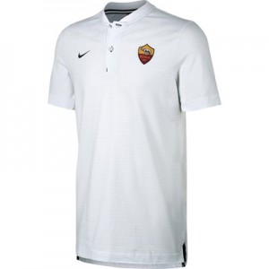 AS Roma Authentic Grand Slam Polo – White