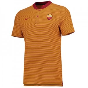 AS Roma Authentic Grand Slam Polo – Red