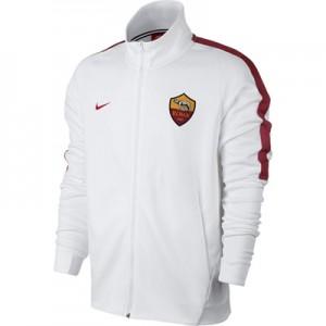 AS Roma Authentic Franchise Jacket – White