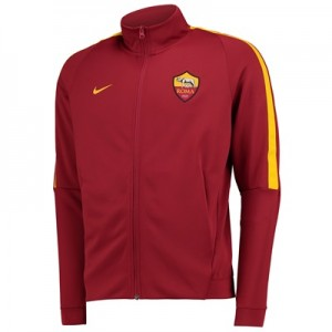 AS Roma Authentic Franchise Jacket – Red