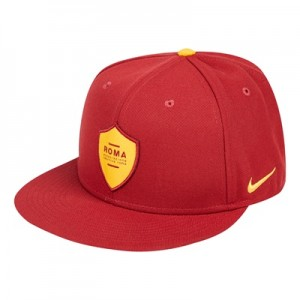 AS Roma Squad Snap Back Cap – Red