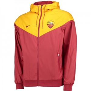 AS Roma Authentic Windrunner – Red