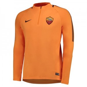 AS Roma Squad Drill Top – Orange