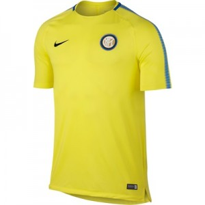 Inter Milan Squad Training Top – Yellow
