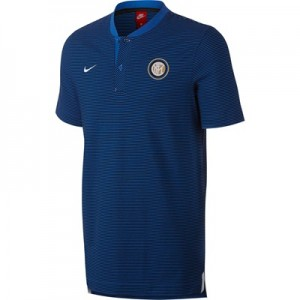 Inter Milan Authentic Grand Slam Polo – Royal Blue