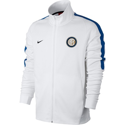 Inter Milan Authentic Franchise Jacket – White