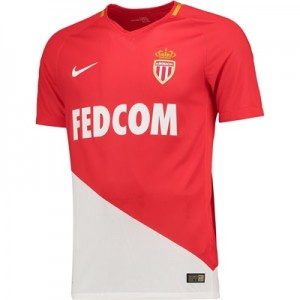 AS Monaco Home Vapor Match Shirt 2017-18