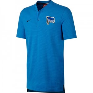 Hertha Berlin Authentic Grand Slam Polo – Blue