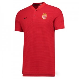 AS Monaco Authentic Grand Slam Polo – Red
