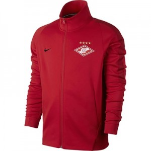 Spartak Moscow Authentic Franchise Jacket – Red