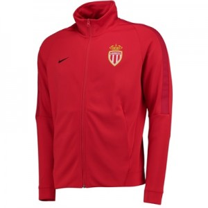 AS Monaco Authentic Franchise Jacket – Red