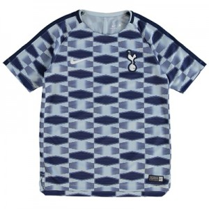 Tottenham Hotspur Squad Pre Match Top – Lt Blue – Kids