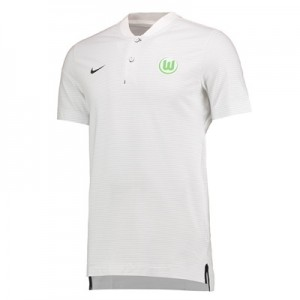 VfL Wolfsburg Authentic Grand Slam Polo – White