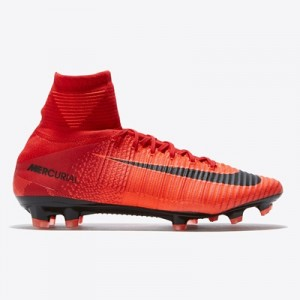 Nike Mercurial Superfly V Firm Ground Football Boots – Red