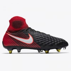 Nike Magista Obra III Anti-Clog Soft Ground Pro Football Boots – Red