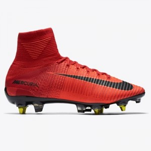 Nike Mercurial Superfly Anti-Clog Soft Ground Pro Football Boots – Red