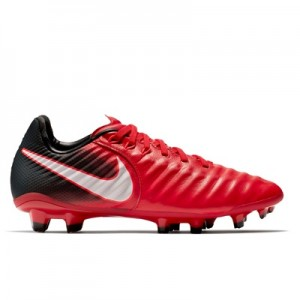 Nike Tiempo Legend VIII Firm Ground Football Boots – Red – Kids
